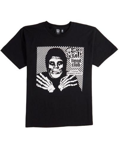Классическая черная футболка Obey
