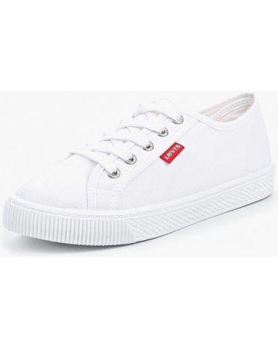 Белые низкие кеды Levi's®