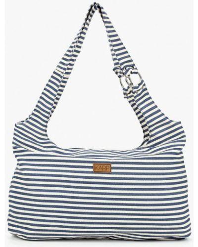 Синяя пляжная сумка Karp