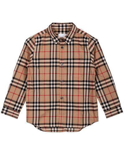 Beżowa koszula Burberry