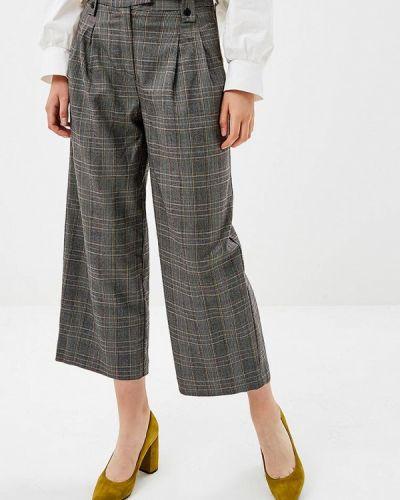 Серые брюки повседневные Zarina