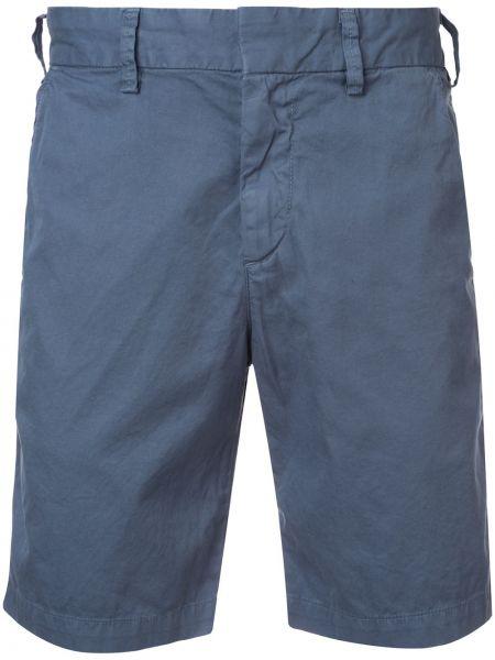 Хлопковые шорты хаки до середины колена Save Khaki United
