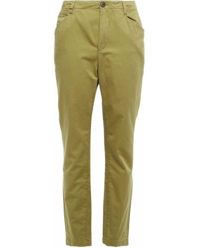 Spodnie bawełniane - zielone Rag & Bone