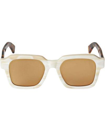 Белые солнцезащитные очки Retrosuperfuture