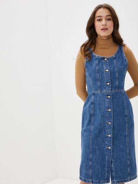 Джинсовое платье синее весеннее Levi's®