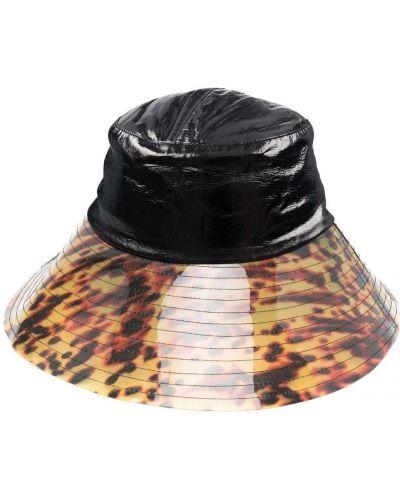 Коричневая хлопковая шапка Rejina Pyo