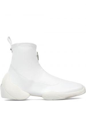 Белые носки с логотипом Giuseppe Zanotti