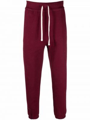 Флисовые брюки - красные Polo Ralph Lauren