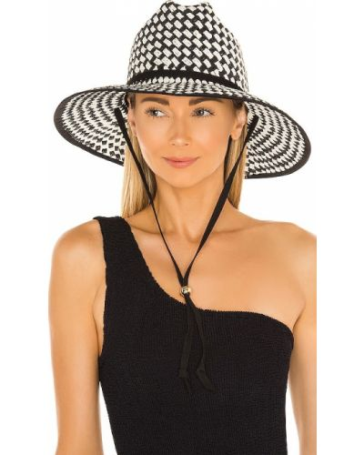 Czarny kapelusz Lele Sadoughi