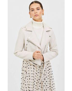 Кожаная куртка базовый из искусственной кожи Stradivarius