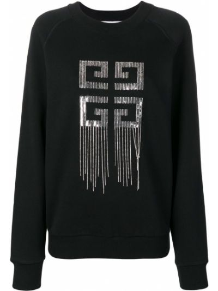 Sweter srebro kryształ Givenchy
