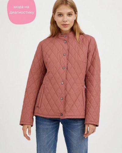Свободная утепленная розовая куртка Finn Flare