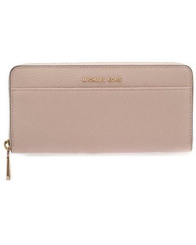 2b00c5e4b0ab Кожаный кошелек розовый светло-розовый Michael Michael Kors