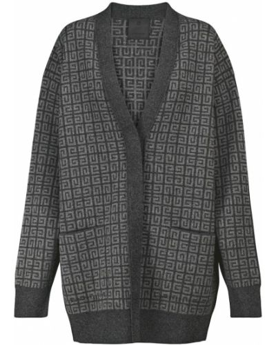 Czarny z kaszmiru sweter Givenchy