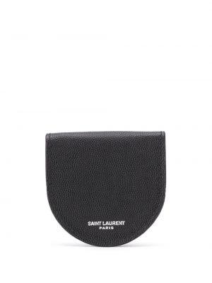 Torebka skórzany czarny Saint Laurent