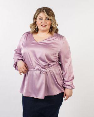 Шелковая блузка Jetti-plus