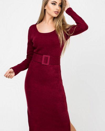 Вязаное платье осеннее трикотажное Leo Pride