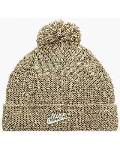 Шапка - зеленая Nike