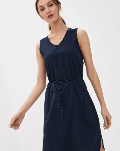 Синее платье Jack Wolfskin