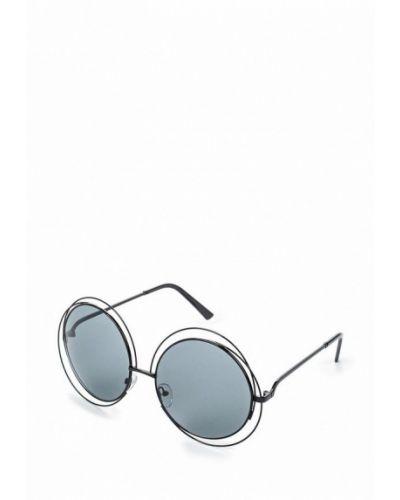 Солнцезащитные очки черные Kawaii Factory