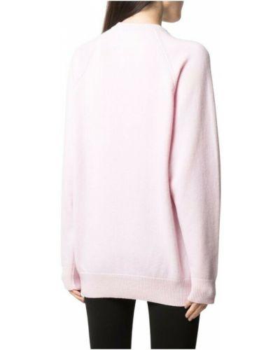 Sweter - różowy Givenchy