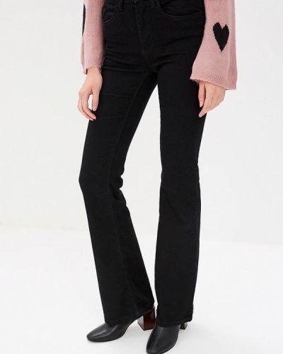Широкие джинсы расклешенные черные Jacqueline De Yong