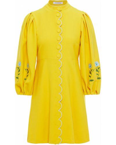 Żółta sukienka bawełniana Vivetta