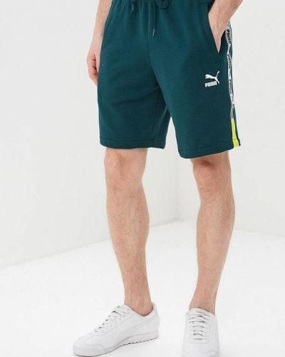 Спортивные шорты 2019 зеленый Puma