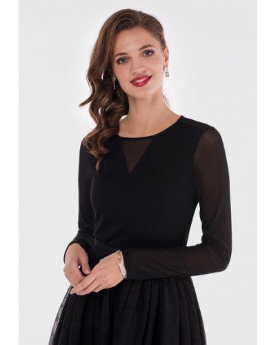 Блузка с длинным рукавом осенняя черный Valkiria