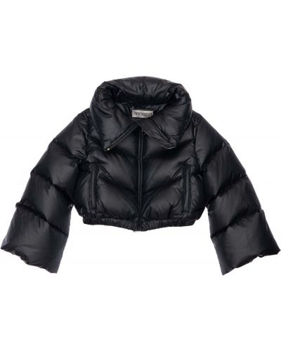 Пуховая куртка - черная Simonetta