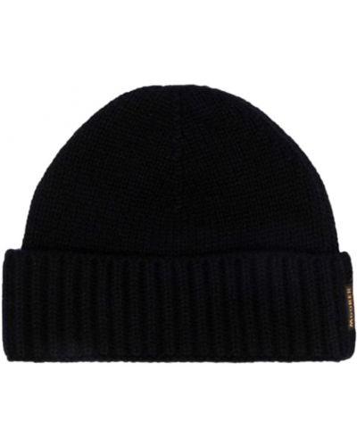 Czarna beret Moorer