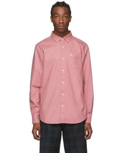 Koszula oxford bawełniana z haftem z długimi rękawami Aime Leon Dore