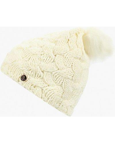 Белая шапка осенняя Guess