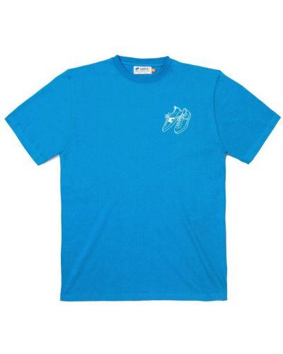 Niebieski t-shirt Karhu