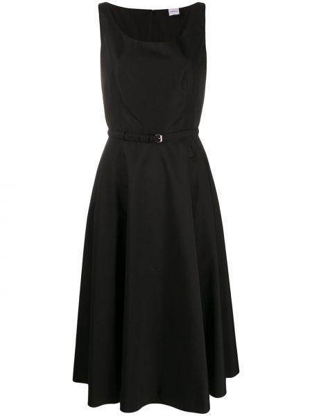 Платье с поясом платье-солнце черное Aspesi