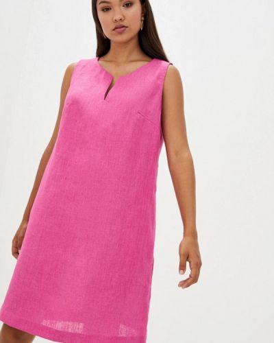 Прямое розовое платье Прованс