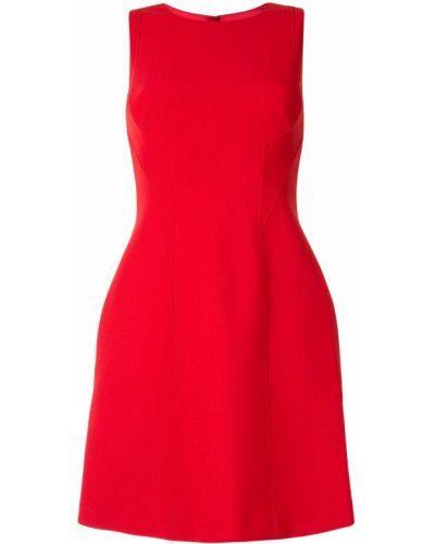 Расклешенное платье мини без рукавов с вырезом на молнии Paule Ka