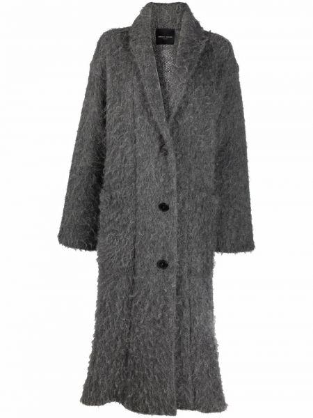 Пальто оверсайз - серое Roberto Collina