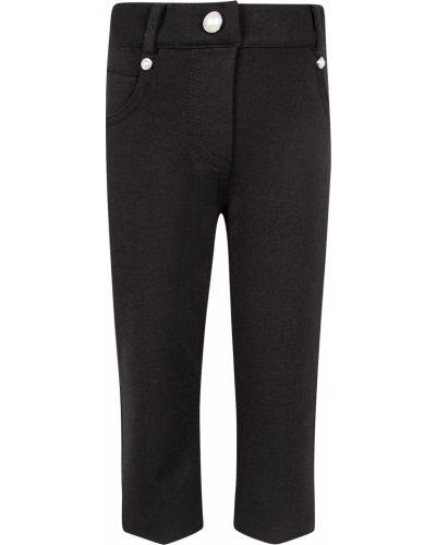 Черные брюки из вискозы Elsy