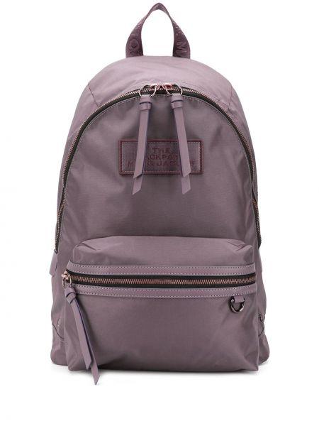 Z paskiem włókienniczy plecak z łatami przeoczenie Marc Jacobs