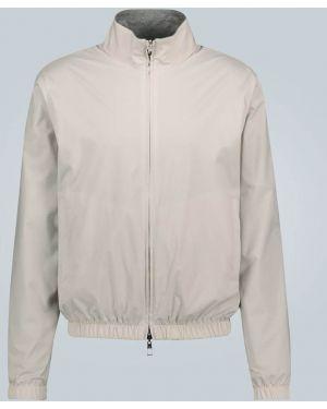 Кашемировая спортивная спортивная куртка с декоративной отделкой двусторонняя Loro Piana