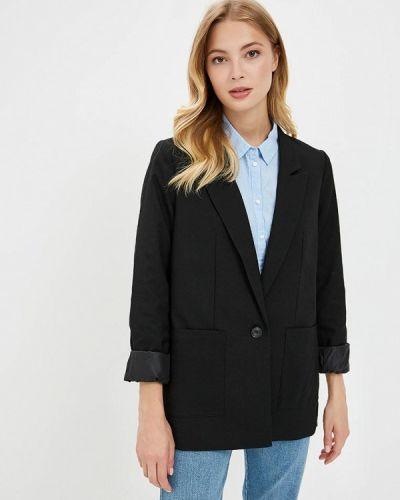 Черный пиджак осенний Tom Tailor