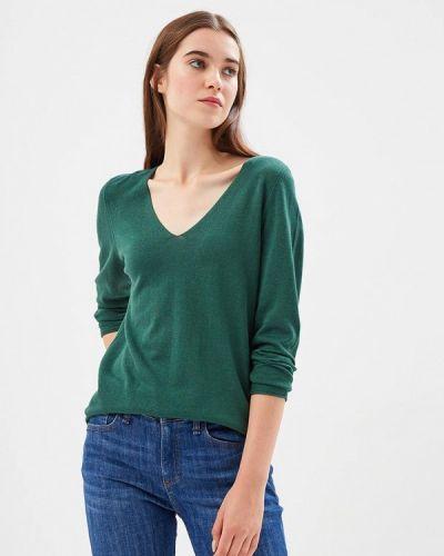 Зеленый пуловер 2018 S.oliver