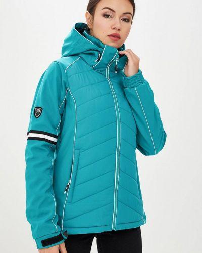 Горнолыжная куртка осенняя зеленая Trespass