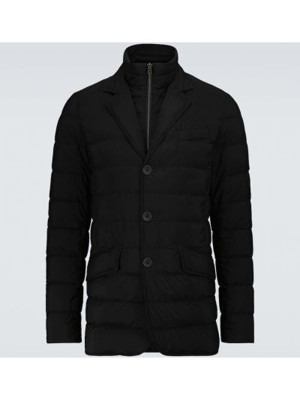 Куртка классическая - черная Herno