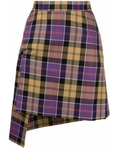 Асимметричная шерстяная юбка с карманами Vivienne Westwood