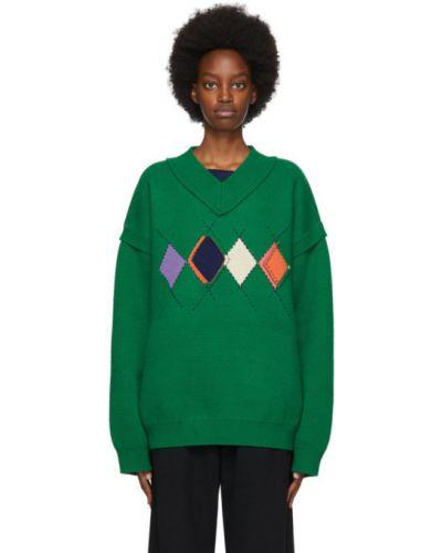 Sweter, zielony Ader Error