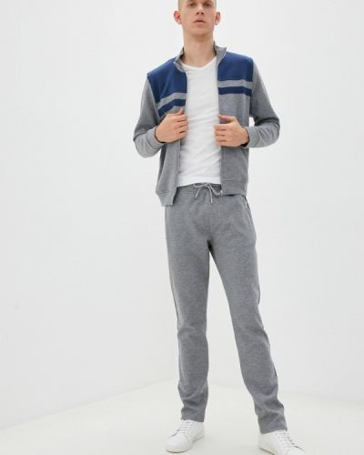 Костюмный серый спортивный костюм Enrico Cerini