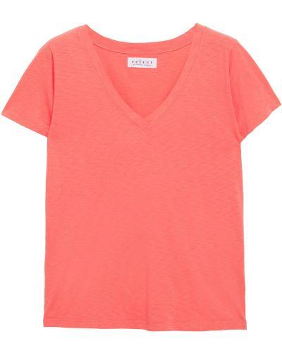 Koszulka bawełniana Velvet By Graham & Spencer