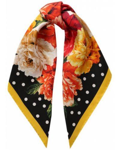 Платок из шелка Dolce & Gabbana